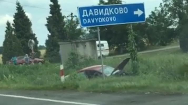 На повороті в село Старе Давидково зіткнулись два автомобілі