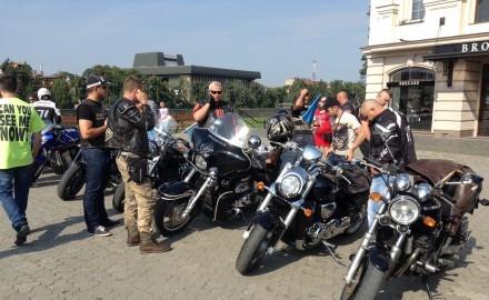 В Ужгороді стартував мотопробіг до межі з Кримом
