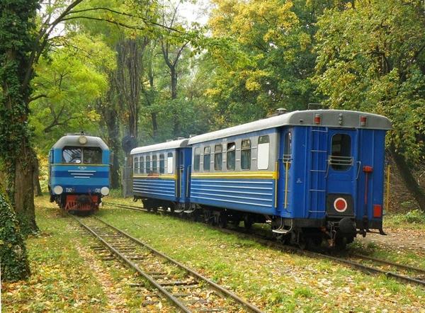 На День Незалежності в Ужгороді відкриють відновлену дитячу залізницю