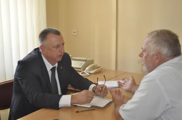В.о. голови облради Петро Грицик провів прийом громадян