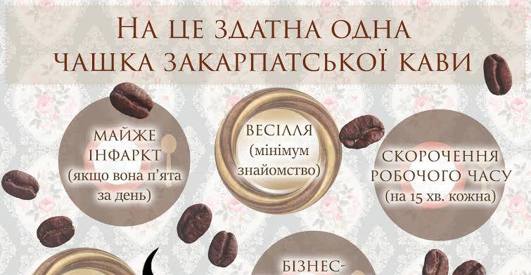 Весілля, партнерство, поповненням у родині: жартівливі варіанти того, на що здатна одна чашка закарпатської кави