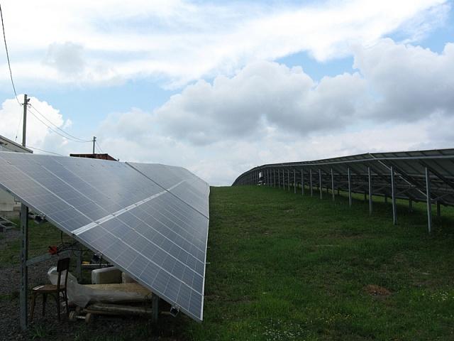 На Закарпатті будують нову сонячну електростанцію. В проект вклали більше 3 мільйонів євро