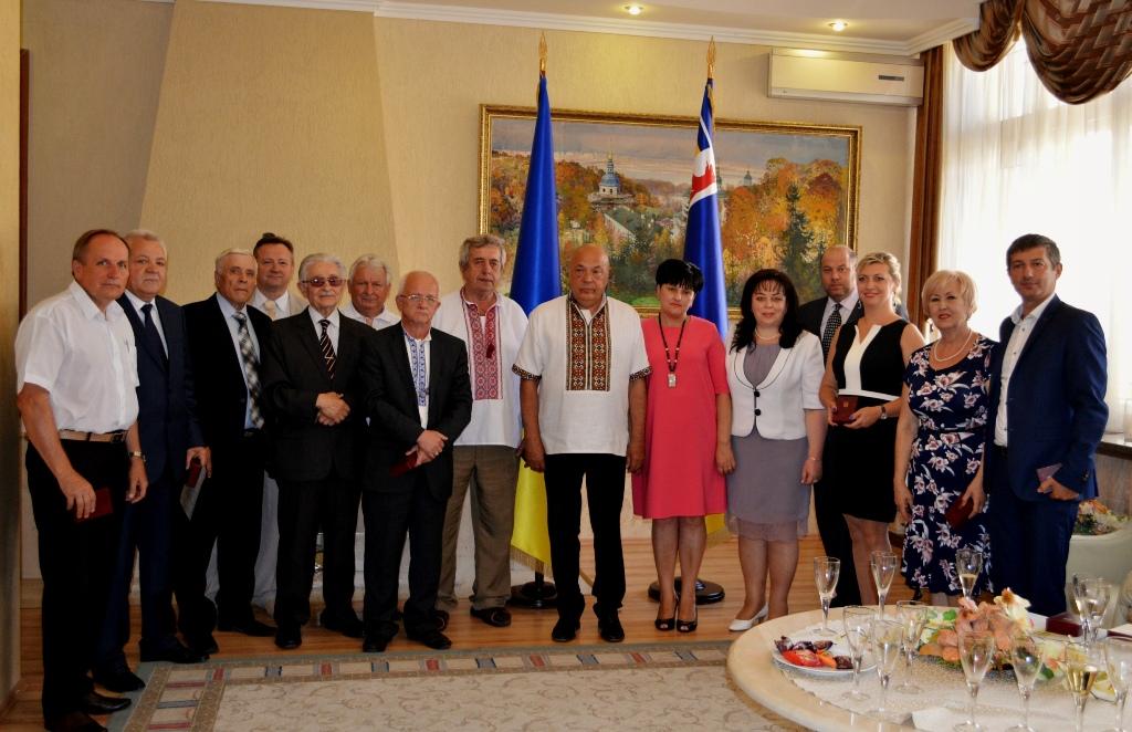 Президент відзначив з нагоди Дня Незалежності України кількох закарпатців державними нагородами