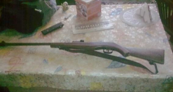 Правоохоронці вилучили у мешканця Перечина незареєстровану рушницю