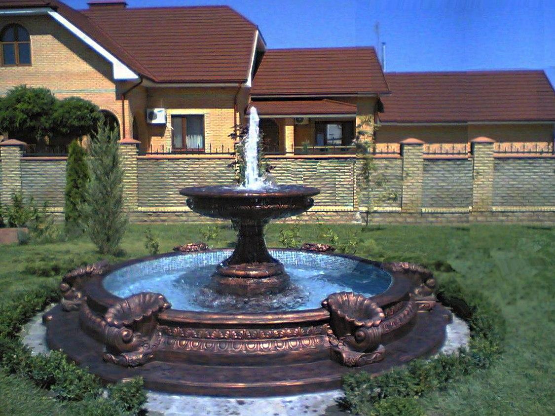 Продам бетонные скульптуры, бассейны, фонтаны, мангалы, столы