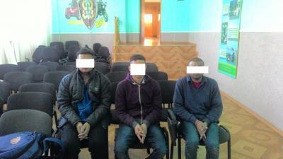 Неподалік кордону з Угорщиною прикордонники затримали трьох нелегалів з Індії