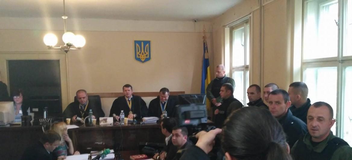 В Апеляційному суді Закарпаття розпочався суд у справі стрілянини у Мукачеві