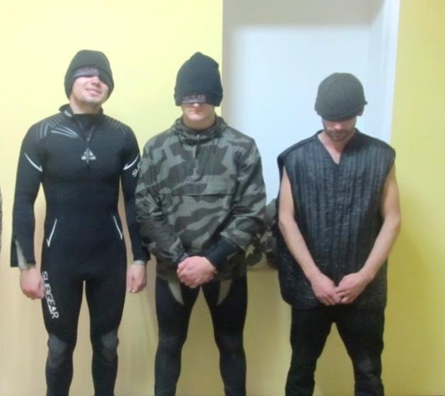 Прикордонники затримали водолазів-контрабандистів
