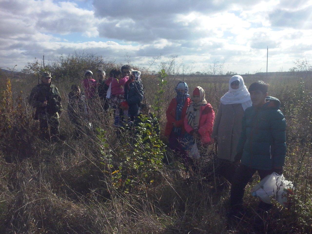 На Закарпатті прикордонники зупинили 11 вихідців з Афганістану, семеро з яких – діти