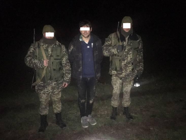 На межі з Україною чопські прикордонники затримали громадянина Словаччини