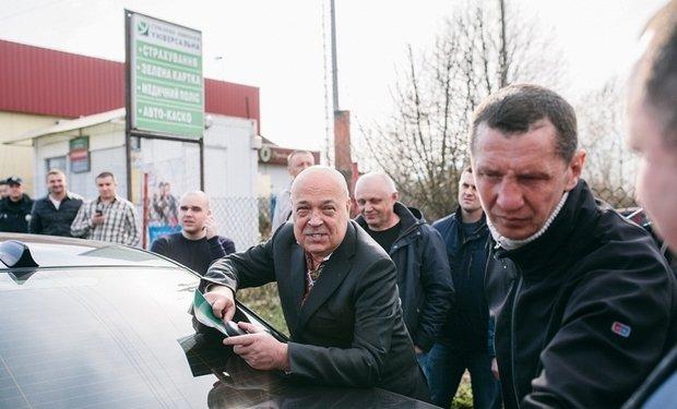 Москаль доручив СБУ перевірити Данацка на причетність до дестабілізаційного плану Кремля стосовно Закарпаття