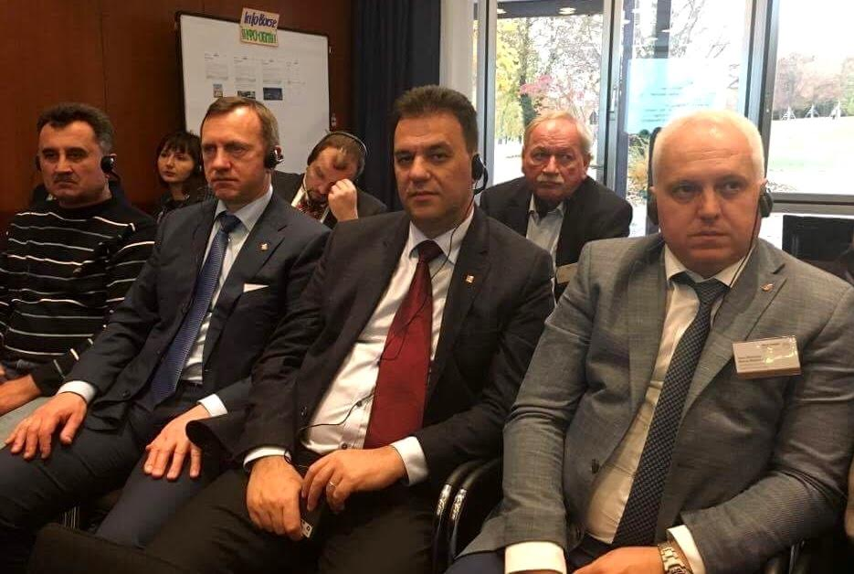 Голова облради та мер Ужгорода взяли участь у першій німецько-українській конференції партнерства