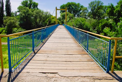 В Ужгороді розвалюється Боздоський міст