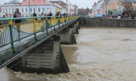 На річці Уж зафіксували найвищий за останні 10 років рівень води