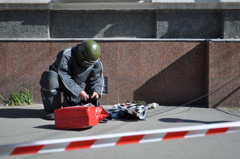 Підозріла сумка в центрі Мукачева налякала містян