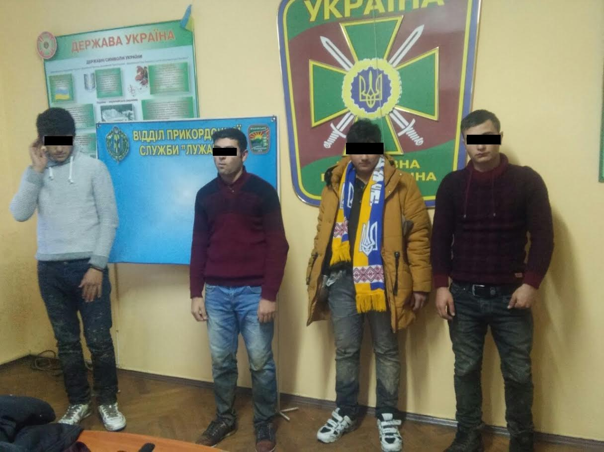 Прикордонники затримали чотирьох нелегалів з Туреччини