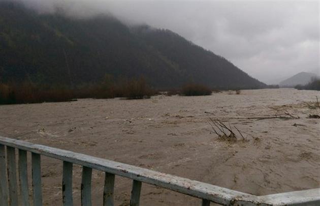 Цієї ночі річка Тиса піднялась до рівня 4,10 метрів