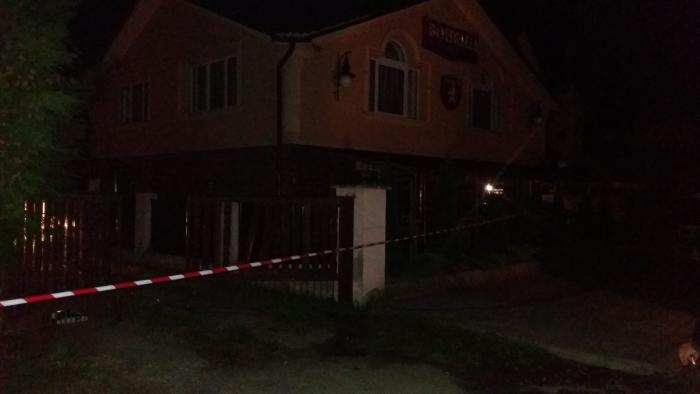 У Сваляві біля ресторану, який раніше обстріляли з гранатомету, знайшли гранату