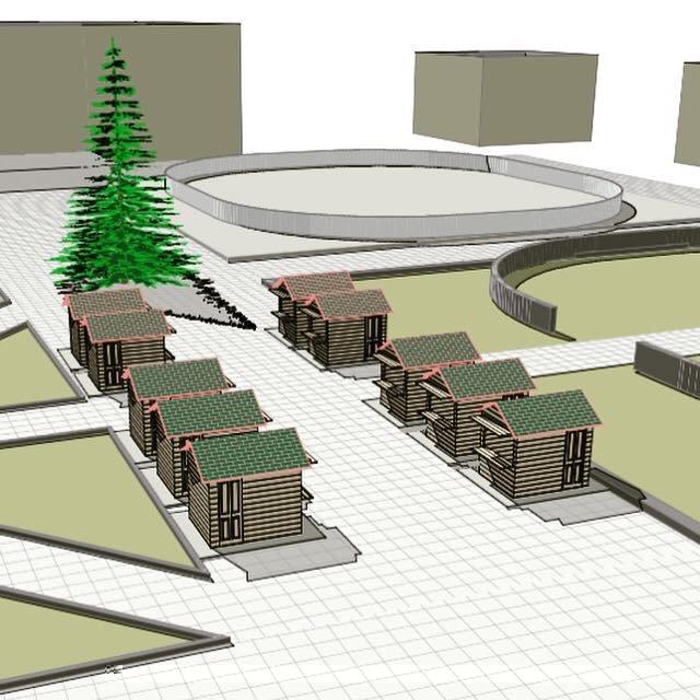 Різдвяна ярмарка з дерев'яними будиночками вперше пройде у Тячеві