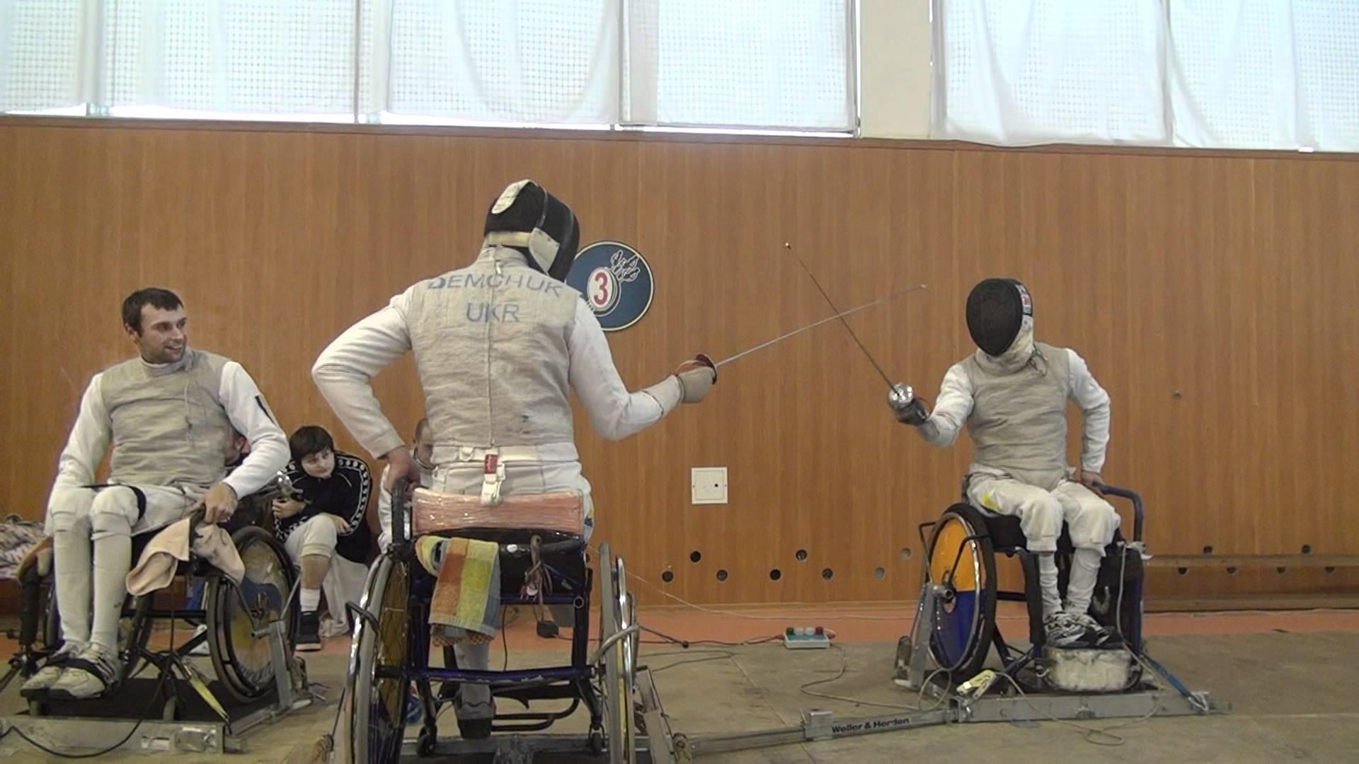Закарпатські фехтувальники на візках стали призерами чемпіонату України