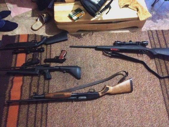 Правоохоронці вилучили у жителя Тячівщини зброю американського виробництва