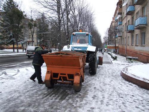 Як Ужгород готується зустріти снігопади
