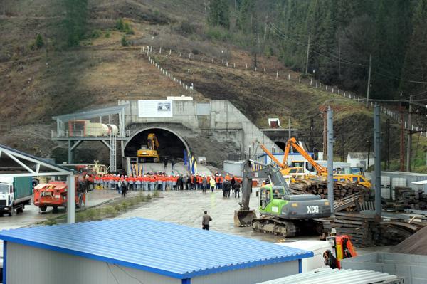 У 2017 році по Бескидському тунелю пустять потяги