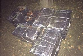 Прикордонники Мукачівського загону завадили контрабанді майже 8000 пачок тютюнових виробів
