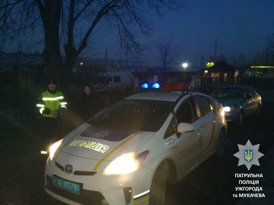 Патрульні поліцейські Мукачева разом з працівниками Укртрансбезпеки провели спільне патрулювання