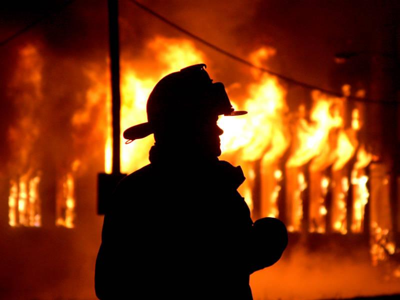 На Воловеччині рятувальники гасили пожежу в кафе