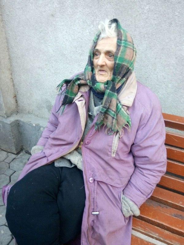 Бабуся, яку поліцейські знайшли у Мукачеві, відмовляється назвати своє ім'я