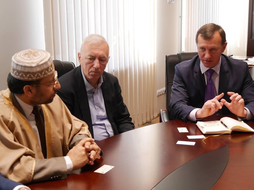 Мер Ужгорода Богдан Андріїв провів зустріч із шейхом з Катару