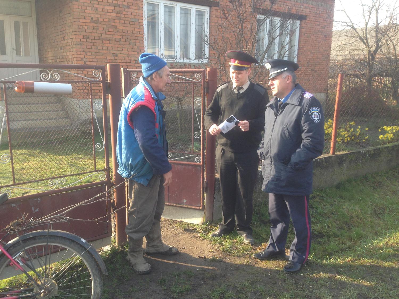 У Часлівцях, що на Ужгородщині, рятувальники провели пожежно-профілактичне відпрацювання