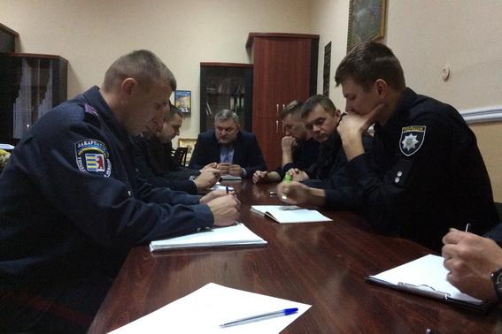 Першочергове завдання поліції – безпека міста, – головний поліцейський Мукачева