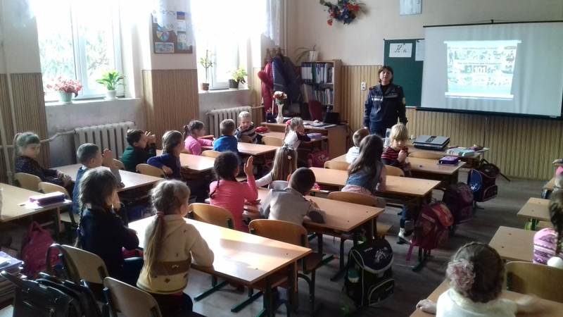 Рятувальники завітали до школярів