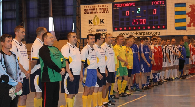 Закарпатські прокурори зіграли традиційний турнір з міні-футболу