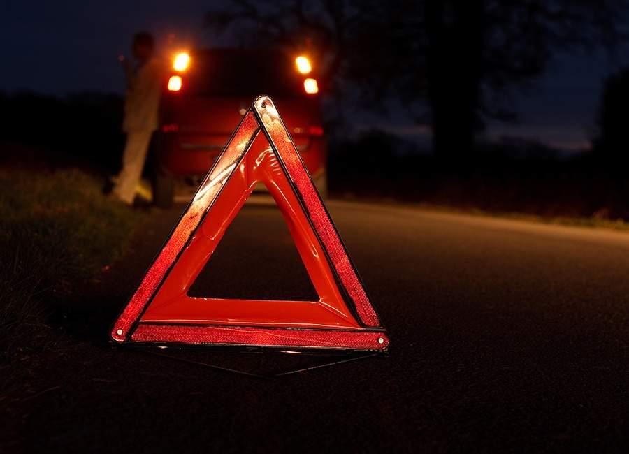 На Великоберезнянщині сталась ДТП: водій іномарки наїхав на чоловіка, який переходив дорогу