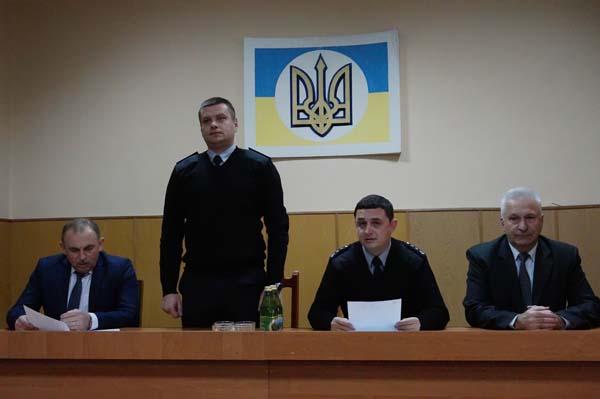 Тячівській поліції представили нового керівника
