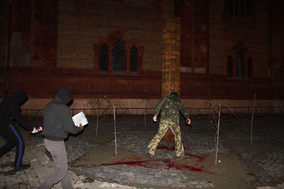 Представник єврейської громади Ужгорода прокоментував акт наруги над пам'ятником жертвам Голокосту