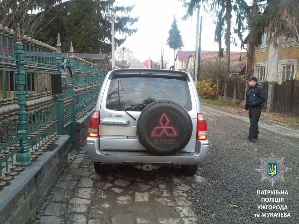 Протягом вихідних патрульні Ужгорода та Мукачева зафіксували 6 випадків керування напідпитку