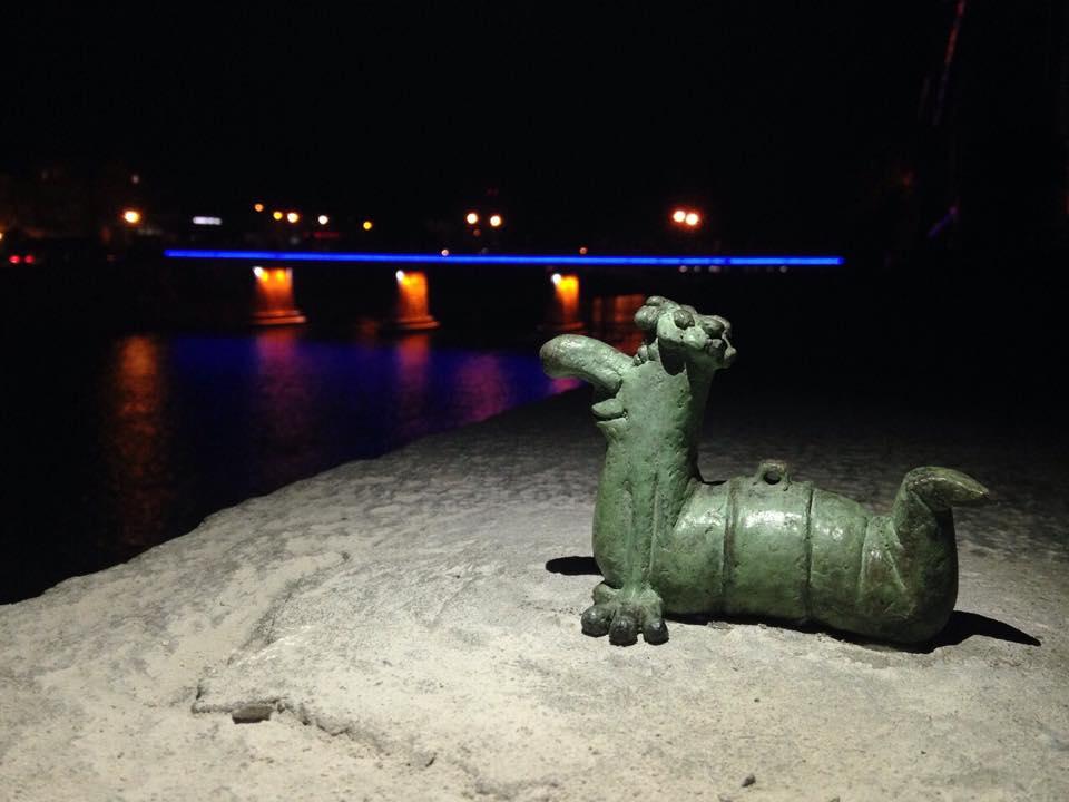 В Ужгороді з'явилась нова міні-скульптура