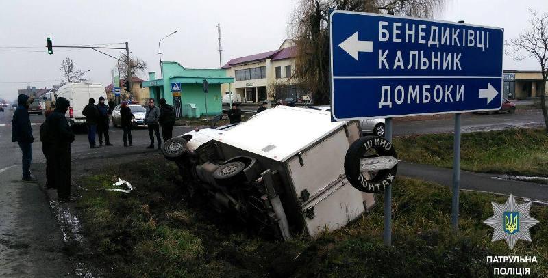 Патрульні назвали основну причину аварій, які трапились в Ужгороді та Мукачеві за добу