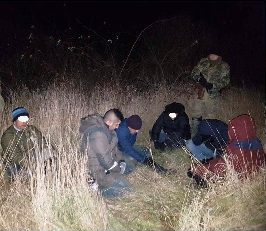 На Закарпатті прикордонники затримали 6 нелегальних мігрантів, які пробиралися в Угорщину