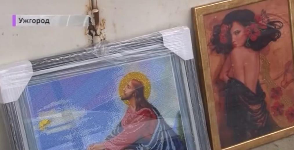 Закарпатець вишиває картини, аби зібрати гроші на операцію та протези