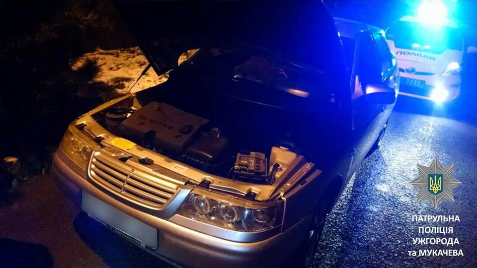 Ужгородські патрульні виявили автомобіль з підробленим номером кузова