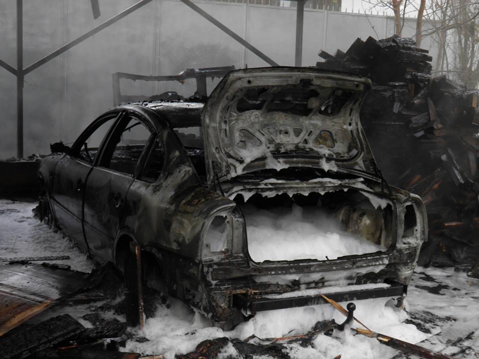 З'явилось відео з місця вибуху в Ужгороді