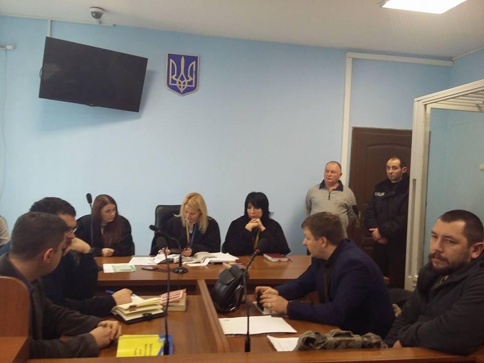 В Ужгородському міськрайонному суді розпочався розгляд справи Олександра Сачка