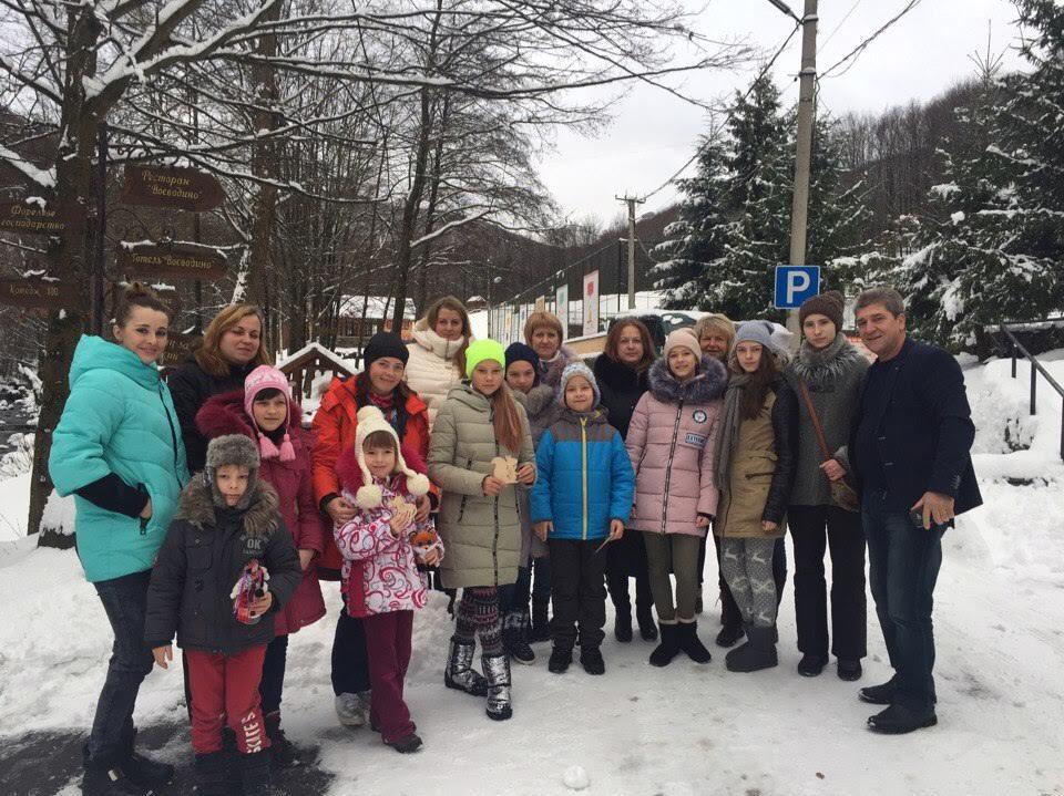 Дітей із Київщини вразила краса відомого закарпатського курорту