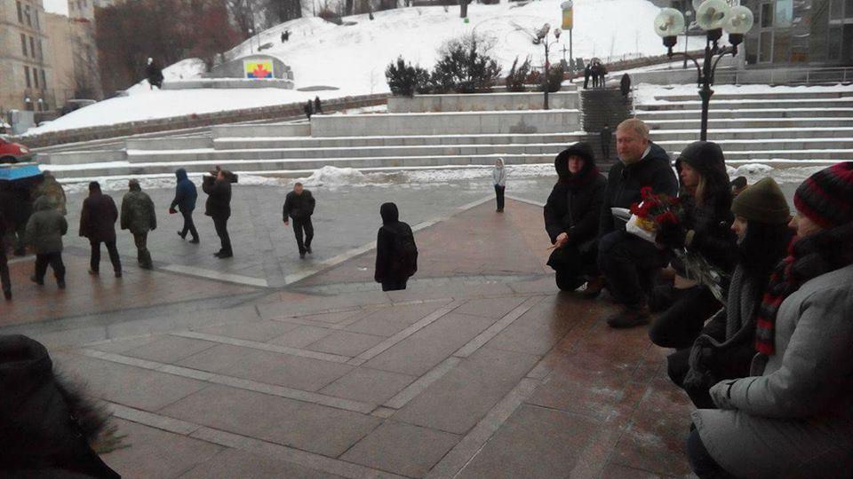 У центрі Києва попрощались із вбитим у зоні АТО закарпатцем. Завтра його поховають у Мукачеві