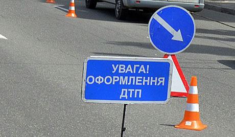 "ДТП в Ужгороді: зіткнулись ""Volkswagen"" та ""Mercedes"""